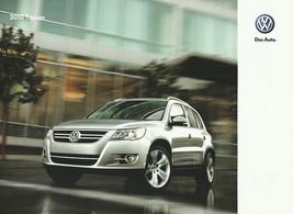 2010 Volkswagen TIGUAN sales brochure catalog US 10 VW SE SEL - $9.00