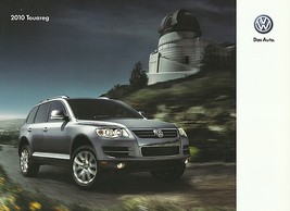 2010 Volkswagen TOUAREG sales brochure catalog US 10 VR6 FSI TDI VW - $9.00