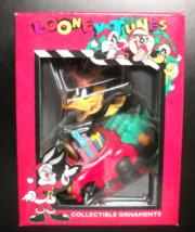 Matrix Christmas Ornament 1996 Looney Tunes Daffy Duck in Reindeer Antle... - $6.99