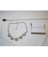 Ladies Womens Avon Floral Clusters Collar Necklace F3932011 NIP;; - $29.69