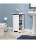 Floor Cabinet With 3 Shelves Bathroom Storage Bath Accessories Organiser... - $64.99