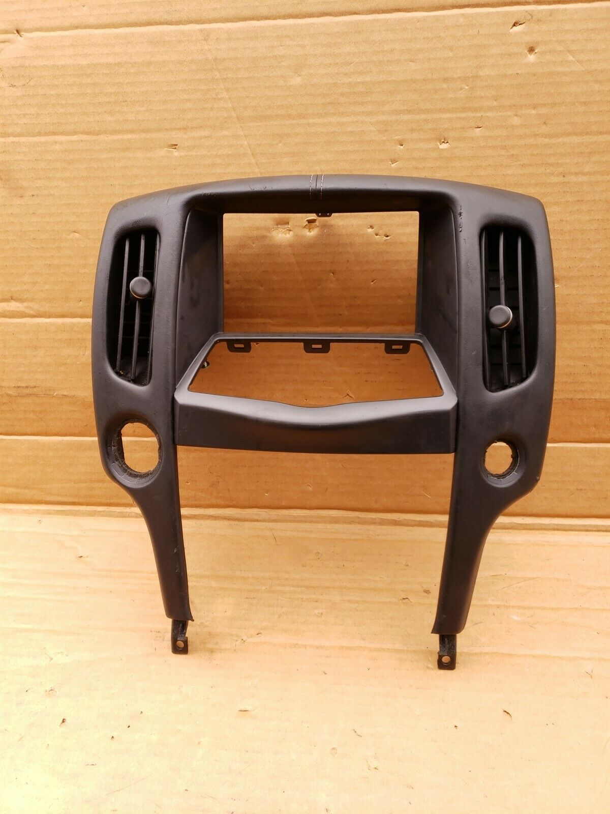 09-20 Nissan 370Z Z34 Radio Dash Bezel Trim For Navigation Display