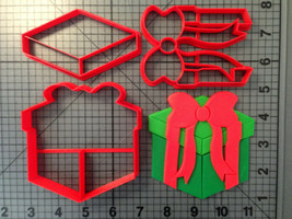 Christmas - Present 266-A616 Cookie Cutter Set - $6.00+