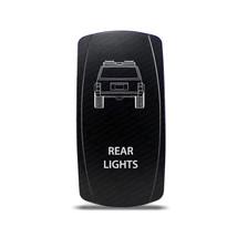 CH4X4 Rocker Switch Jeep Cherokee XJ Rear Lights Symbol 2 - Green  LED - $16.44