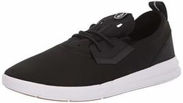 Volcom Men's Draft Water Shoe Skate, Black White, 11.5 D US - $45.14