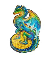 """Unidragon Wooden Jigsaw Puzzles """"Guarding Dragon"""" Wooden Puzzles for Adu... - $59.99"""