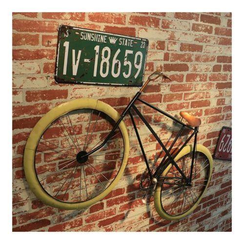 America Loft Iron Bicycle Wall Hanging Decoration