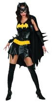 DC Comics Secret Wishes Sexy Deluxe Batgirl Adult Costume Black X Small - $110.26