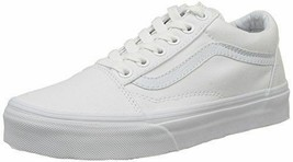 Original Vans Old Skool VN000D3HW00 White Canvas Casual WOMEN - €50,11 EUR