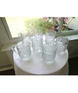 Set of 6 Princess House Fantasia Pattern Coffee Mugs - $39.60