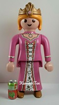 "Large Playmobil Store Display Princess Figure Poseable 24"" Pink Dress & Crown - $125.22"
