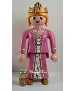 "Large Playmobil Store Display Princess Figure Poseable 24"" Pink Dress & ... - $125.22"