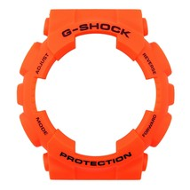 Casio G-SHOCK Watch Band Bezel Shell GA-110MR-4A Orange Rubber Cover - $20.45