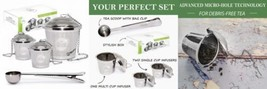 Tea Infuser Set by Chefast (2+1 Pack) - Combo Kit of 2 Single Cup Infuse... - €21,18 EUR