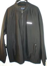 NAUTICA MEN'S BLACK JACKET XXXL OUTSTANDING USED CONDITION - $69.00