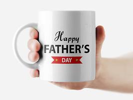 Happy Father's Day Mug Funny Rude Quote Coffee Mug Cup Q182 - $12.20+