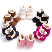Infant Baby Toddler Warm Boots Kids Boys Girls Winter Snow Fur Shoes 0-1... - £7.67 GBP