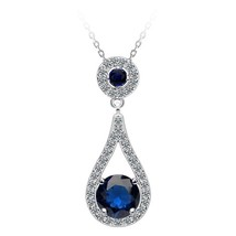 Moonso Multicolor Moonso Two Gifts Real Sterling Silver 925 zircon drop ... - $16.03