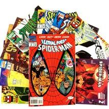 12 Spider-Man Comic Book Lot VF NM Marvel Ghost Rider Punisher Daredevil... - $19.75