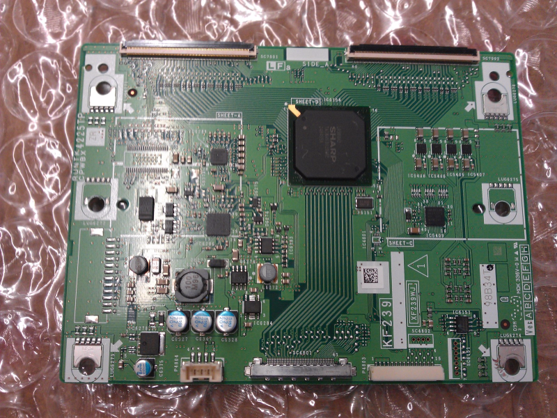 RUNTK4225TPZR T Con Board From Sharp LC-40E77UN LCD TV