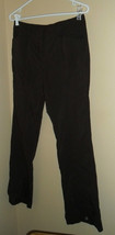 Women's Brown Dress Pants Liz Claiborne 6 - $5.28