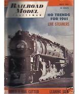Railroad Model Craftsman Magazine May1961 - $2.50