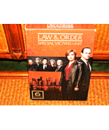 LAW & ORDER SVU COMPLETE  6 TH SEASON 5 DVD BOXED WITH CAST PICTURES - $16.99