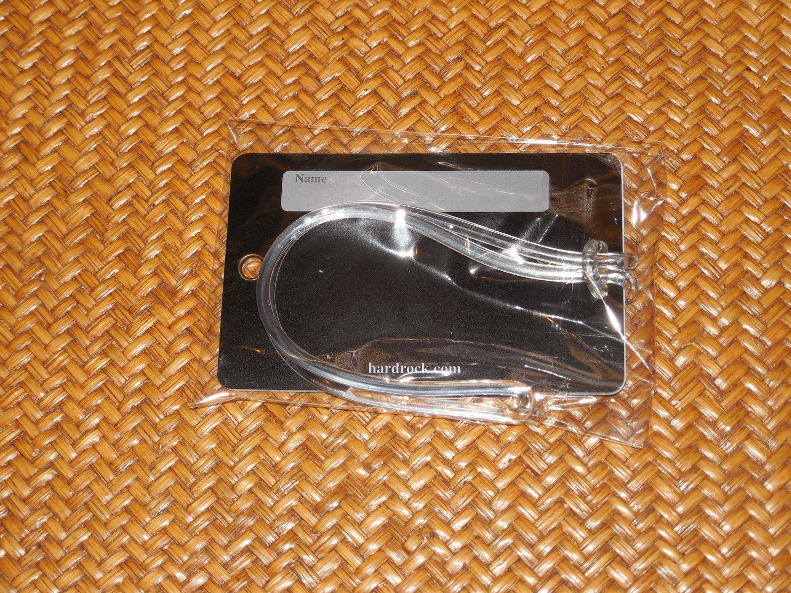 HARD ROCK CAFE FROM KEY WEST LUGGAGE TAG NEW IN SEALED PACKAGE AS PICTURED