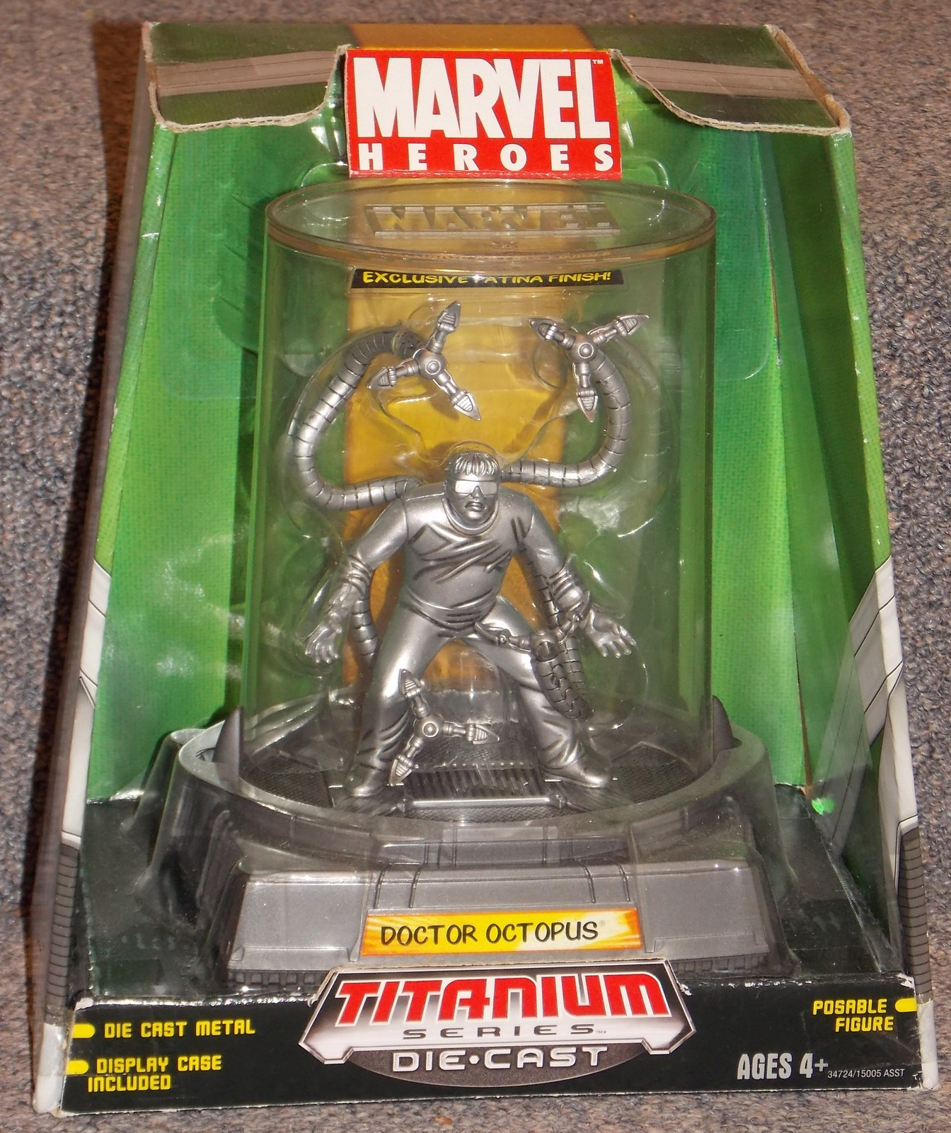 Primary image for 2006 Marvel Doctor Octopus Titanium Series Diecast Figure New In The Box