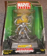 2006 Marvel Doctor Octopus Titanium Series Diec... - $24.99