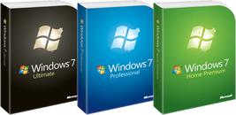 Windows 7 32-64 Bits - $15.00