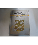1990 Toyota Corolla Electrical Wiring Diagram Troubleshooting Manual FAC... - $54.40