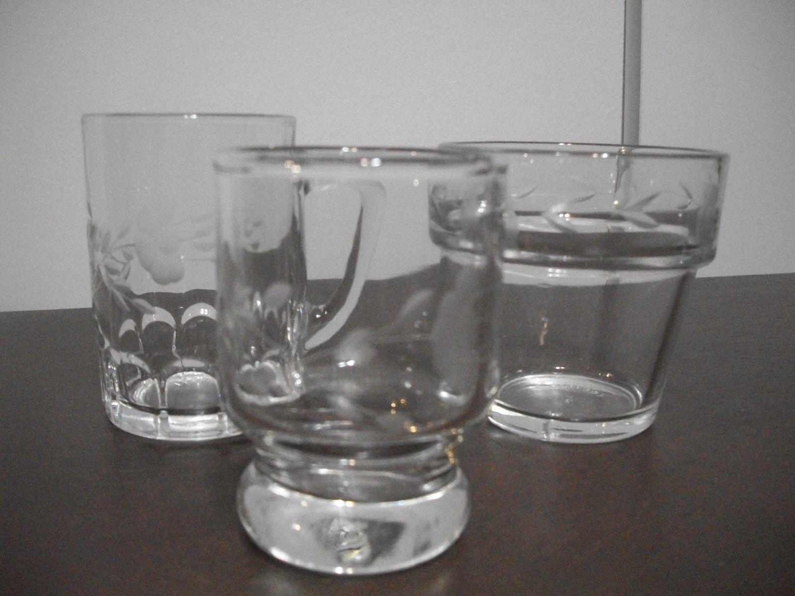 3  PRINCESS HOUSE HERITAGE MINI ITEMS PLANTER MUG GLASS