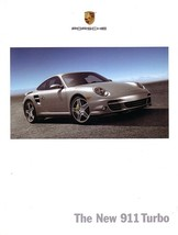 2007 Porsche 911 TURBO sales brochure catalog US 07 997 - $15.00