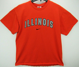 Vintage Nike Illinois Fighting Illini Men's Size Large T Shirt Final Fou... - $25.95