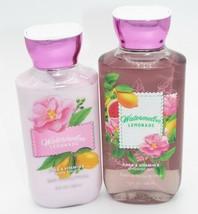 Bath Body Works * Watermelon Lemonade * Shower Gel + Body Lotion Set - $15.00