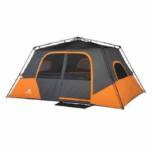 Instant Cabin Tent : Person instant camping large cabin dome family beach