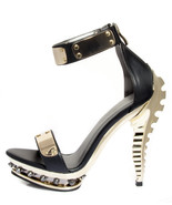 Sexy Hades PRISM Ankle Strap Spiked Platform Op... - $115.00