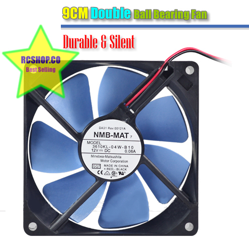 Primary image for 9cm Fan NMB-MAT Double Ball Bearing Quiet pc server desktop 90mm chassis fan NEW