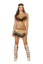 Sexy Roma Noble Indian Sweetheart Native American Halloween Costume S M ... - $74.00