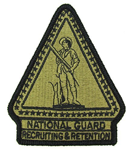 National guard recruiting and retention ocp patch scorpion w2