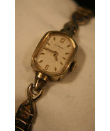 Ladies' vintage 1950's Swiss, dress, luxury, gold Wittnauer, 17J wristwatch - $80.00