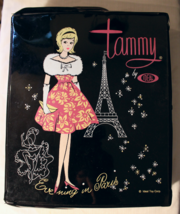 """Ideal Tammy Doll Case """"Evening In Paris"""" With Another Brand Doll Nice Co... - $20.00"""