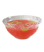 New! Fineline Platter Pleasers 8 qt. Clear Plastic Punch Bowl with Rebate - $16.34