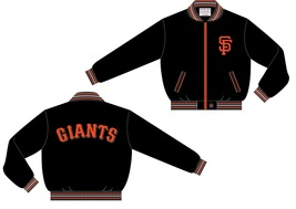 JH Design MLB San Francisco Giants Lightweight Twill Jacket - $79.95