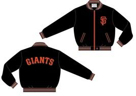JH Design MLB San Francisco Giants Lightweight Twill Jacket - $79.95