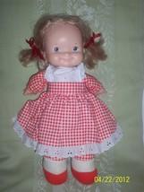 Vintage Original Fisher Price Mary Lapsitter Soft Plush & Vinyl Doll 197... - $35.00