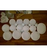Corelle Livingware 18-Piece Dinner Set Service for 6 Winter Frost White - $79.99
