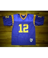 Authentic Mitchell & Ness 1977 Los Angeles Rams Blue Gold Joe Namath Jer... - $149.99