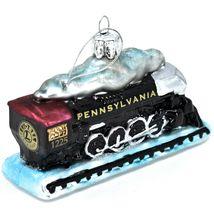 Kurt S Adler Lionel Pennsylvania Train #1225 Hand-Crafted Glass Ornament LN4192 image 9